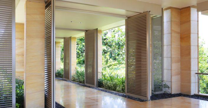 ANSE moderní stínící technika - posuvné panely