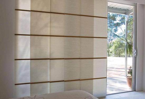 posuvné panely, stěny