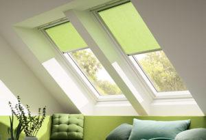 stínění střešních a atypických oken